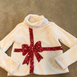 Sherpa Christmas holiday sweater